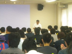 サッカー4級新規講習会