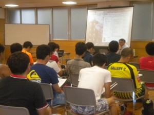 サッカー4級審判更新講習会