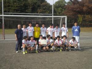 中学1位;城南FC